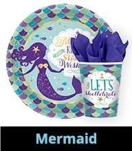 Mermaid Party Supplies